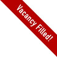 Vacancy filled
